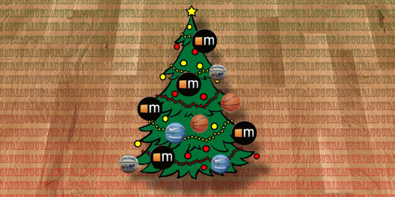 Auguri Di Natale Per Sportivi.Auguri Di Buon Natale Da Megabasket Megabasket